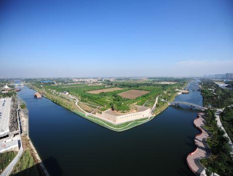 位於西安市西北郊,其遺址內漢城湖最為壯美,漢城湖水域歷史悠久,曾為圖片